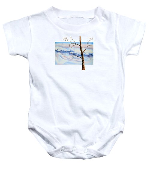 A Tree In Another Dimension Baby Onesie