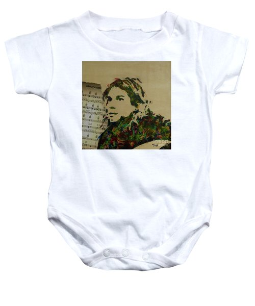 About A Girl Baby Onesie