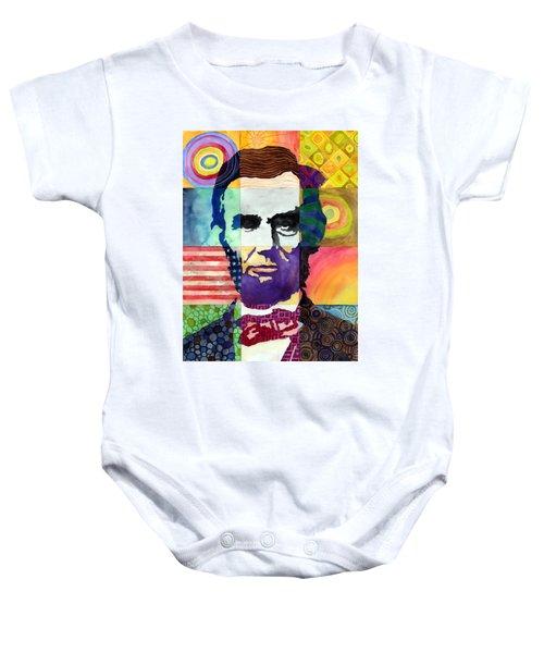 Abraham Lincoln Portrait Study Baby Onesie