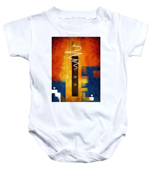 Abstract 12 Baby Onesie