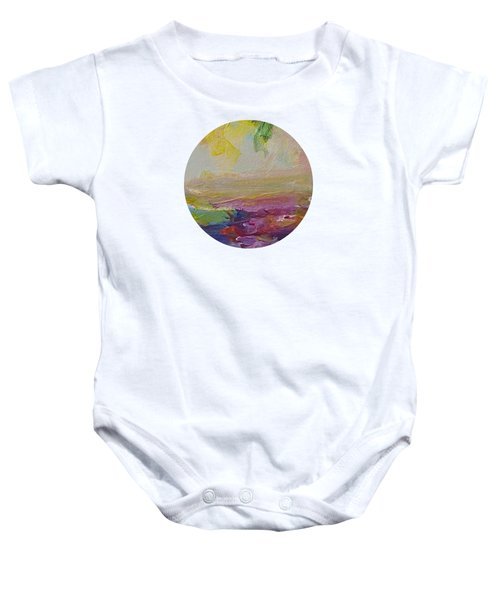 Abstract Impressions- Number 2 Baby Onesie