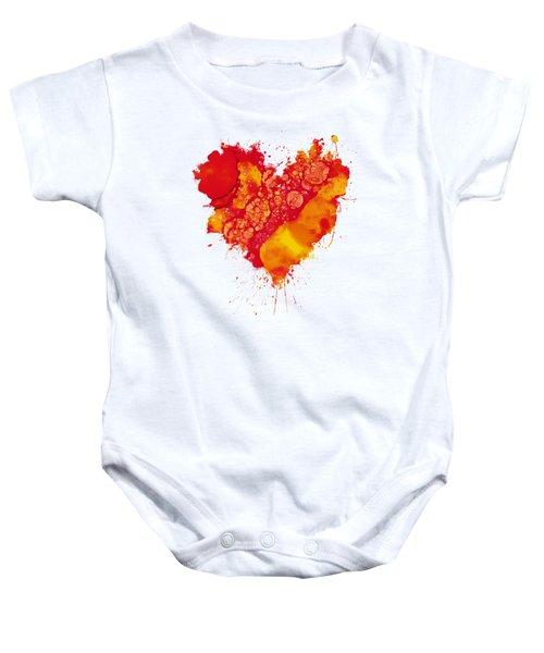 Abstract Intensity Baby Onesie