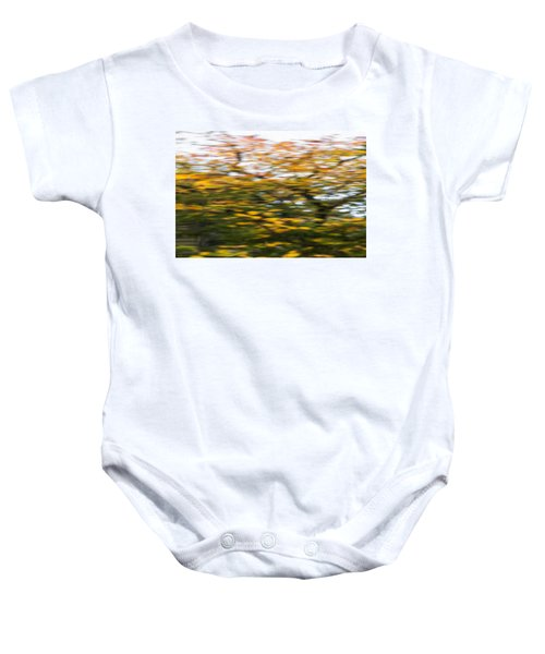 Abstract Of Maple Tree Baby Onesie