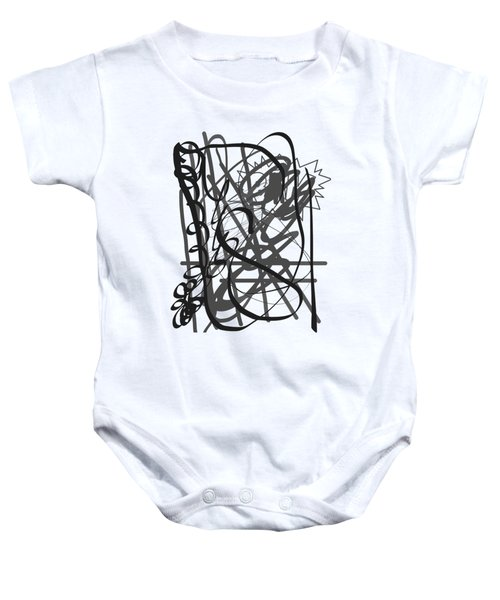 Abstract Baby Onesie by Oksana Demidova