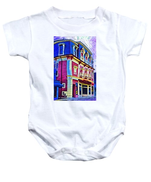 Abstract Urban Baby Onesie