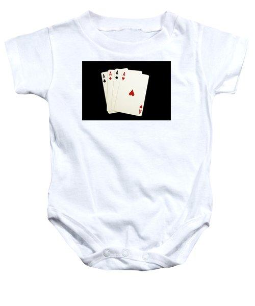 Aces Baby Onesie