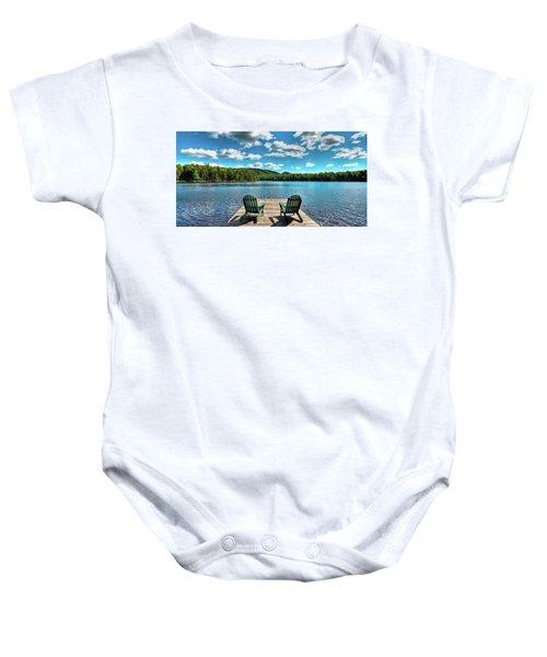 Adirondack Panorama Baby Onesie