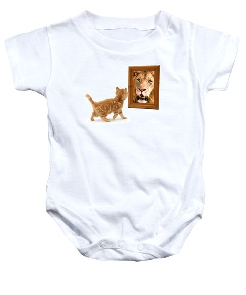 Admiring The Lion Within Baby Onesie