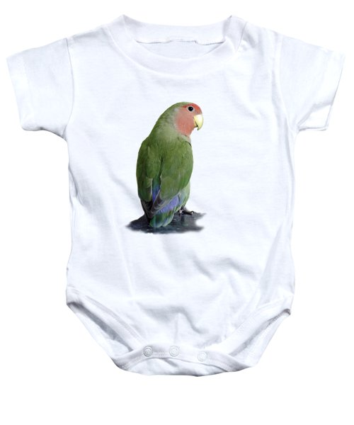 Adorable Pickle On A Transparent Background Baby Onesie by Terri Waters