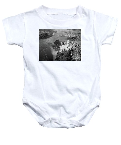 Aerial View Northward Over Olympia Baby Onesie