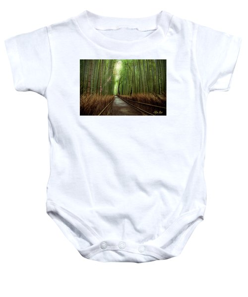 Afternoon In The Bamboo Baby Onesie