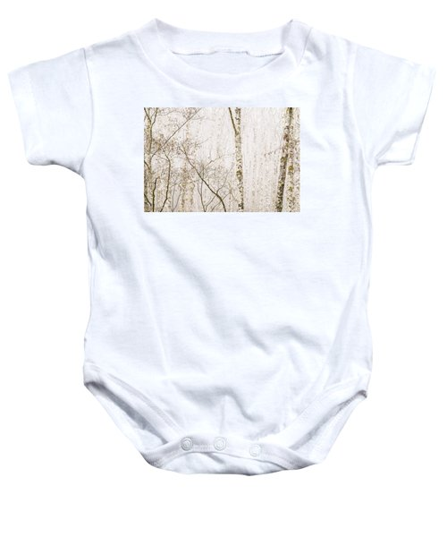 Alders In The Fog Baby Onesie
