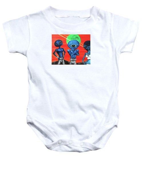 Alien Posse Baby Onesie