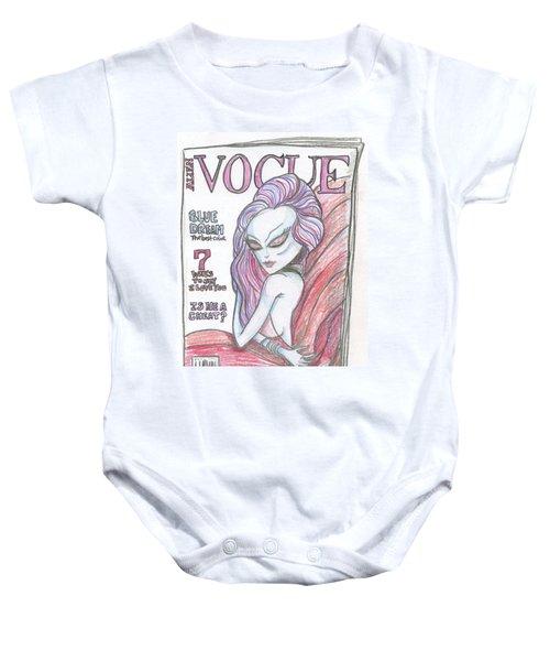 Alien Vogue Baby Onesie