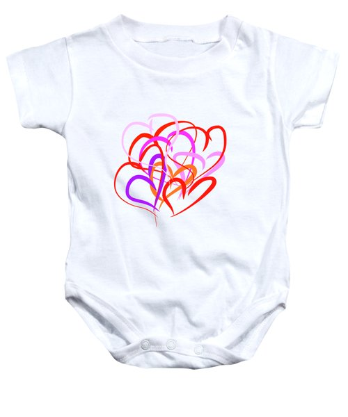 All About Love Baby Onesie