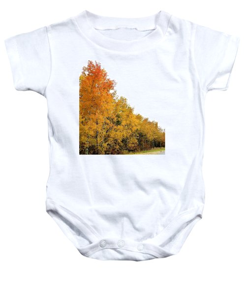 Along Broadwater Road Baby Onesie
