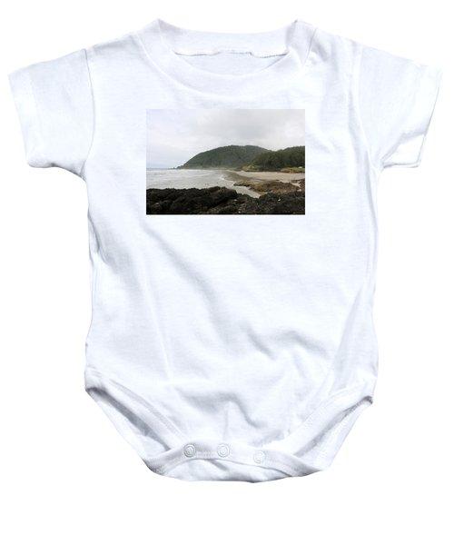 Along The Oregon Coast - 3 Baby Onesie