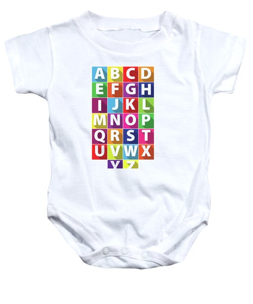 Alphabet Baby Onesie