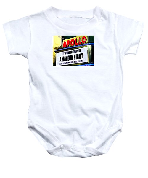 Amateur Night Baby Onesie by Ed Weidman