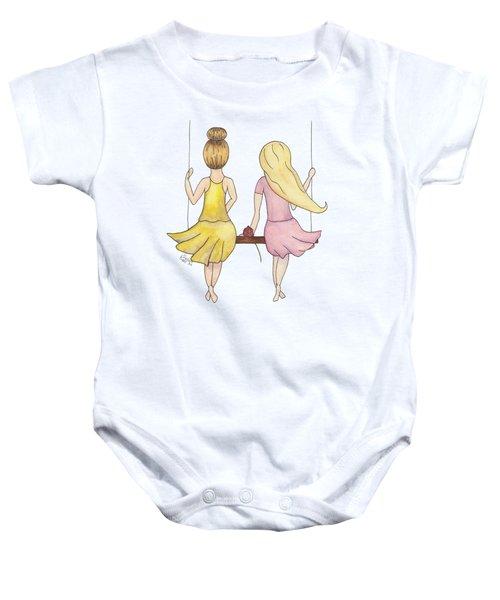 Amelia And Lillian Baby Onesie