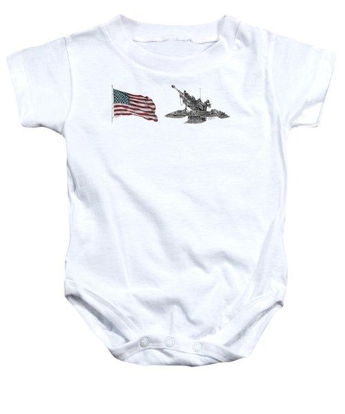 American Artillery Baby Onesie