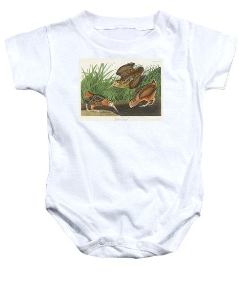 American Woodcock Baby Onesie by John James
