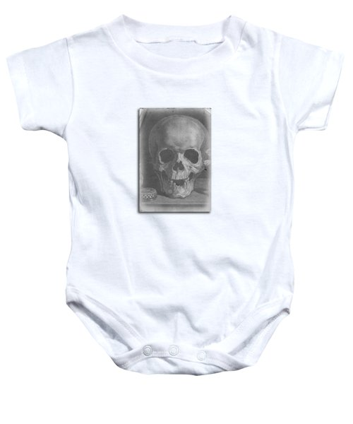 Ancient Skull Tee Baby Onesie