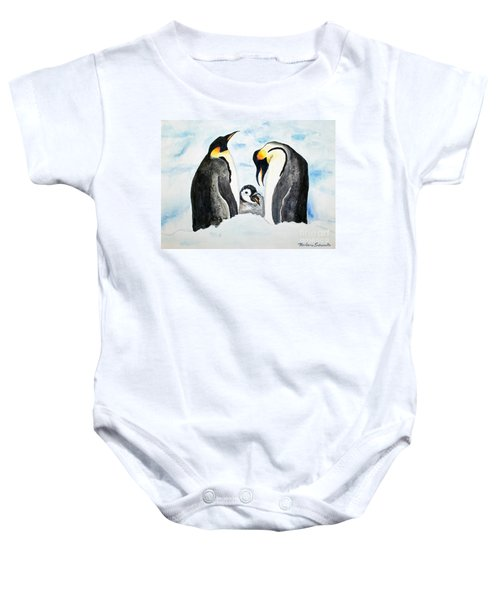 And Baby Makes Three Baby Onesie