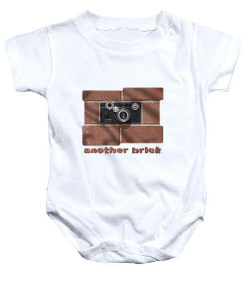Another Brick . . 2 Baby Onesie