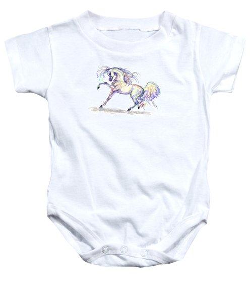 Arabian Stallion Talk Baby Onesie