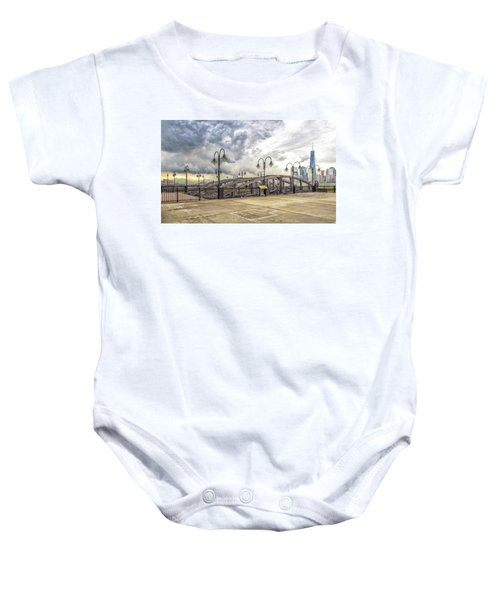Arc To Freedom One Tower Image Art Baby Onesie