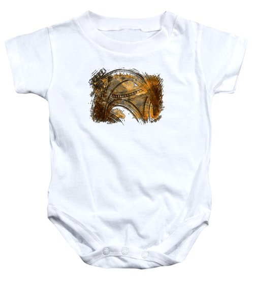 Arches Abound Earthy 3 Dimensional Baby Onesie