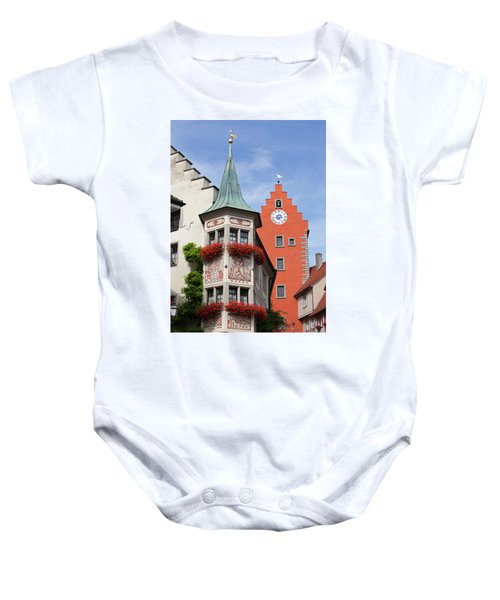 Architectural Details In Old City Baby Onesie