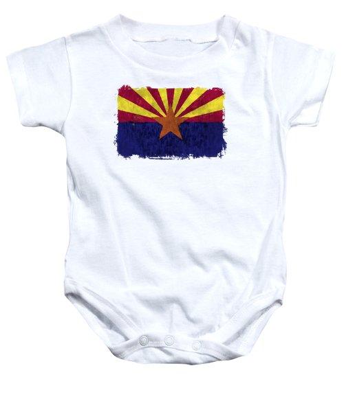 Arizona Flag Baby Onesie