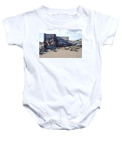 Art Or Graffiti Baby Onesie