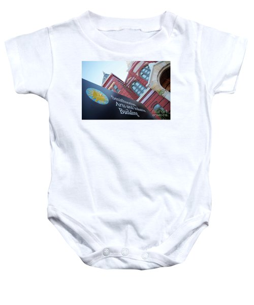 Arts And Industry Museum  Baby Onesie
