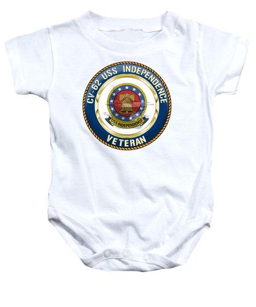 Cv-62 Uss Independence  Baby Onesie