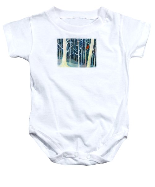 Quiet Moment Baby Onesie by Hailey E Herrera