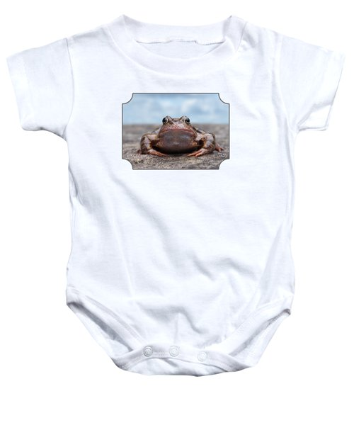 Leaving Home Baby Onesie by Gill Billington