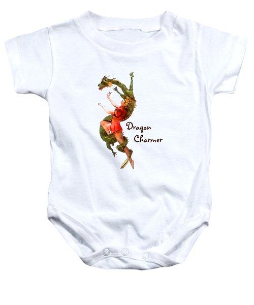 Dragon Charmer Baby Onesie
