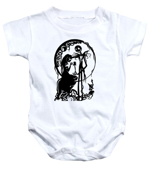 A Nightmare Before Christmas Baby Onesie
