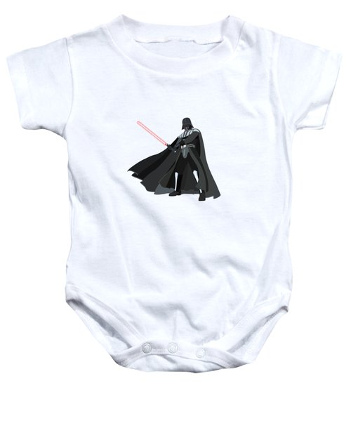 Darth Vader Star Wars Character Quotes Poster Baby Onesie