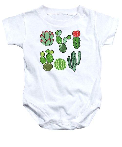 Cacti Baby Onesie