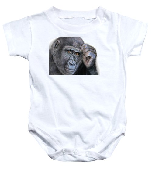 I Think Therefore I Am Baby Onesie