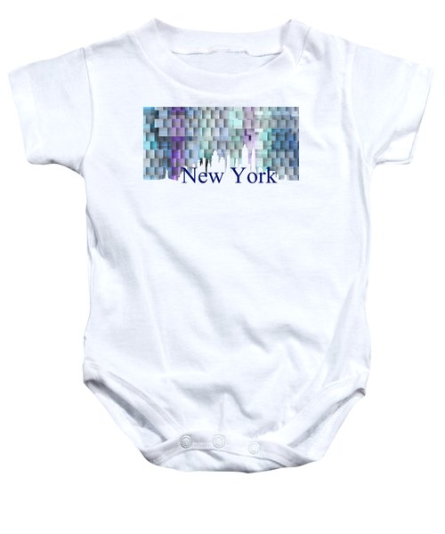 New York Blue Shadows, Baby Onesie