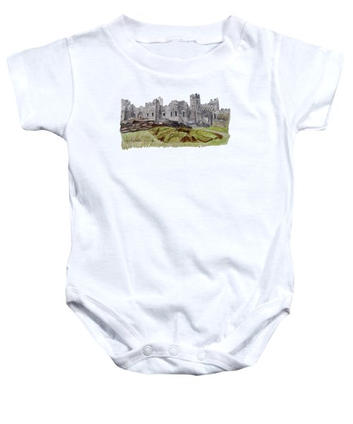Castle Ward Baby Onesie by Angeles M Pomata