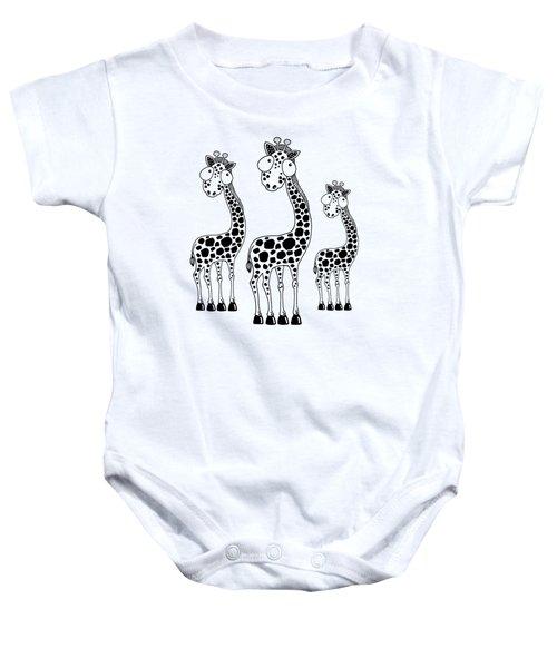 Fudge The Giraffe Baby Onesie
