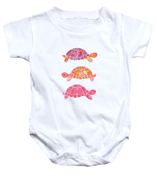 Turtles Baby Onesie