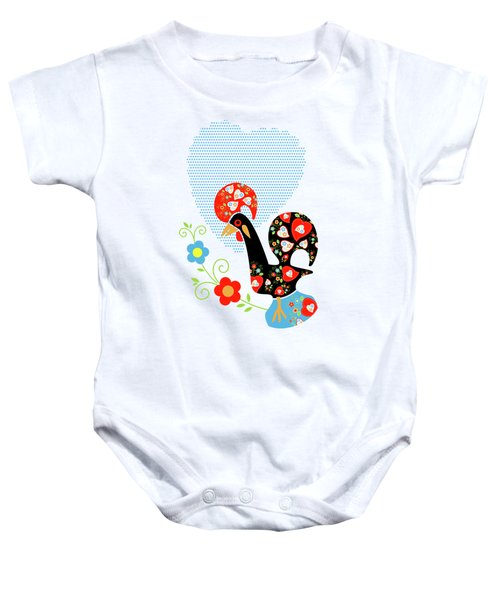 Portuguese Rooster Baby Onesie