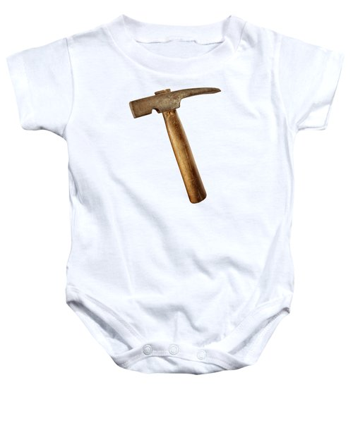 Antique Plumb Masonry Hammer On Color Paper Baby Onesie